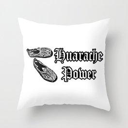Huarache Power Throw Pillow