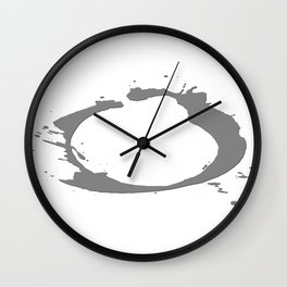 Outlaw Logo  Wall Clock