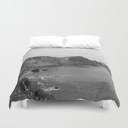 A Summer Drive Along Highway One in California Duvet Cover