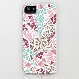Happy lightful color Mosaic iPhone Case