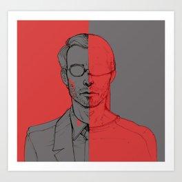 Secret life of Matt Murdock Art Print