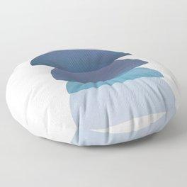 Blue Stack 03 Floor Pillow