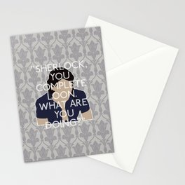 His Last Vow - Janine Stationery Cards