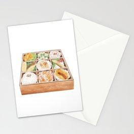 Japanese Bento | 日式便当 Stationery Cards