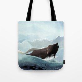 Mermaid in the Light Tote Bag
