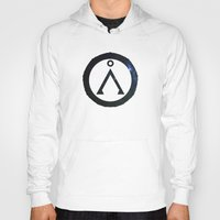 stargate Hoodies featuring Stargate Universe by Dustin Bauer