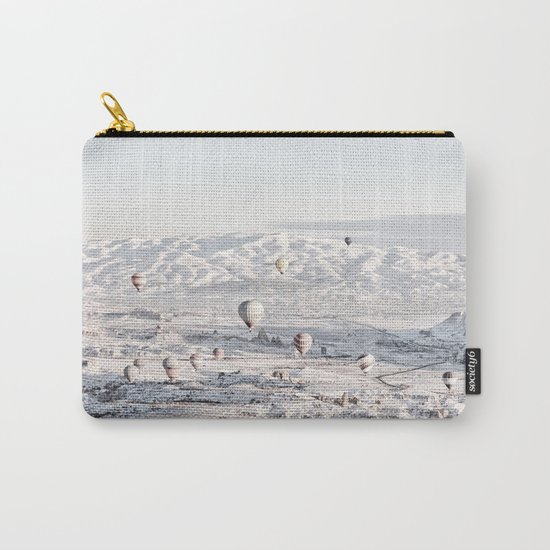 Air Balloons #society6 #art #buyart Carry-All Pouch