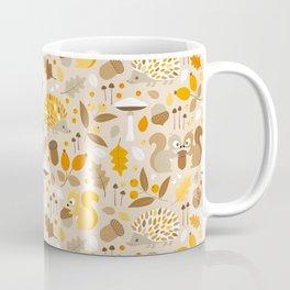forest in fall Coffee Mug