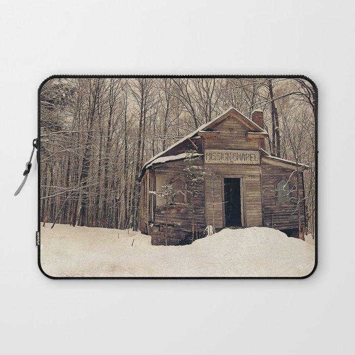 Mission Chapel Laptop Sleeve
