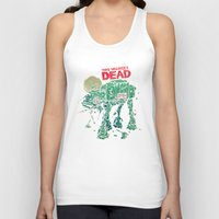 dead Tank Tops featuring Walker's Dead by Victor Vercesi