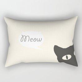 MEOW!  Rectangular Pillow