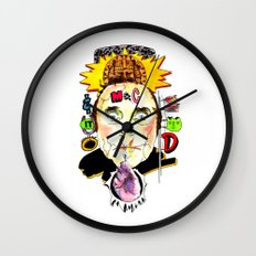 SNICK or TREAT. Wall Clock