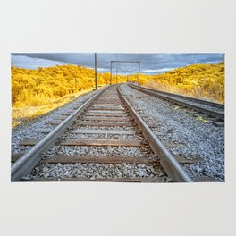Train to Nowhere Rug