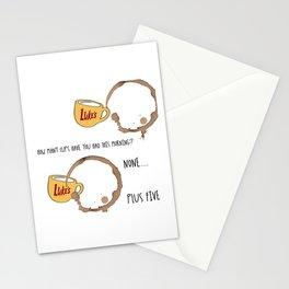 Luke's diner Stationery Cards
