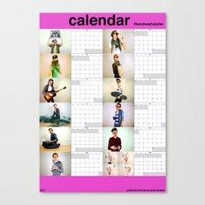 #kendoeshipster (2012 calendar) Canvas Print