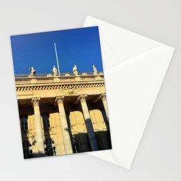 Grand théâtre de Bordeaux 8- The muses 2 Stationery Cards