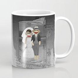 Sock Monkey Wedding Coffee Mug