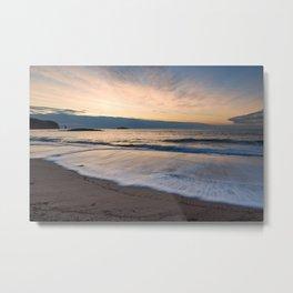 Sandwood Bay at Sunset Metal Print