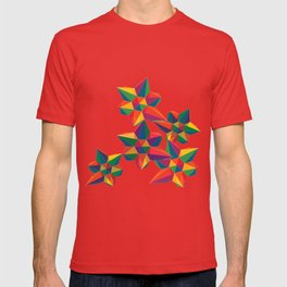 Hexagon Explosion T-shirt