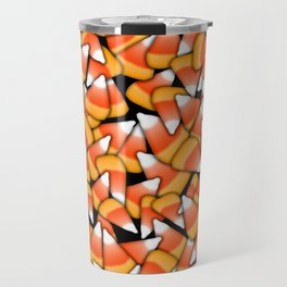 Candy Corn Pattern Travel Mug