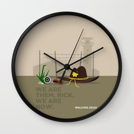 WALKING DEAD - WE ARE THEM, RICK Wall Clock