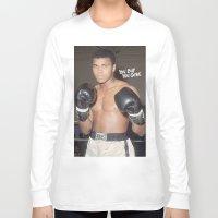 ali gulec Long Sleeve T-shirts featuring Ali #1 by YBYG