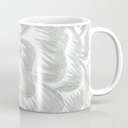 Silver Flower Coffee Mug