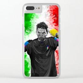 Gianluigi Buffon - Italy Clear iPhone Case