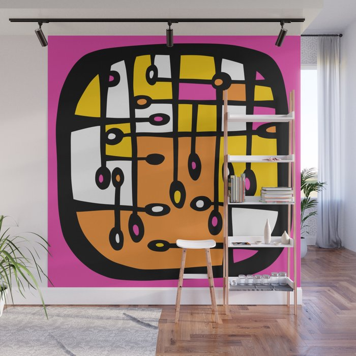 Dot #3 by lalalamonique Wall Mural