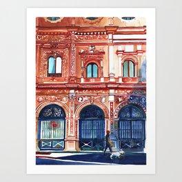 Casa consistorial de Sevilla Art Print