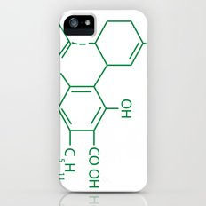 Cannabis Chemistry: CBD iPhone (5, 5s) Slim Case