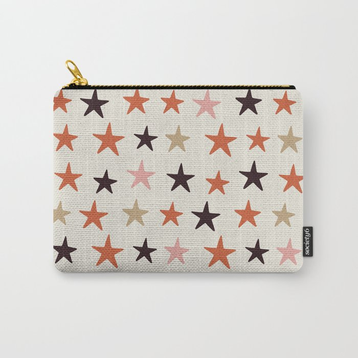Star Pattern Color Tasche