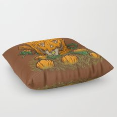 The Pumpkin Log Floor Pillow