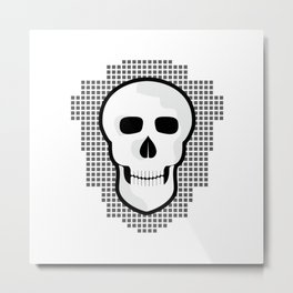 Skull  #society6 #decor #buyart #artprint Metal Print