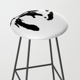 Map of the Great Lakes Bar Stool