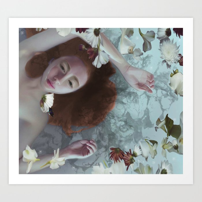 7d07ef28965 What The Water Gave Me Art Print by artofcourtneyestelle