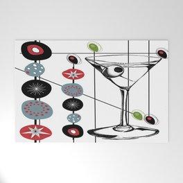 Mid-Century Modern Art Atomic Cocktail 3.0 Welcome Mat