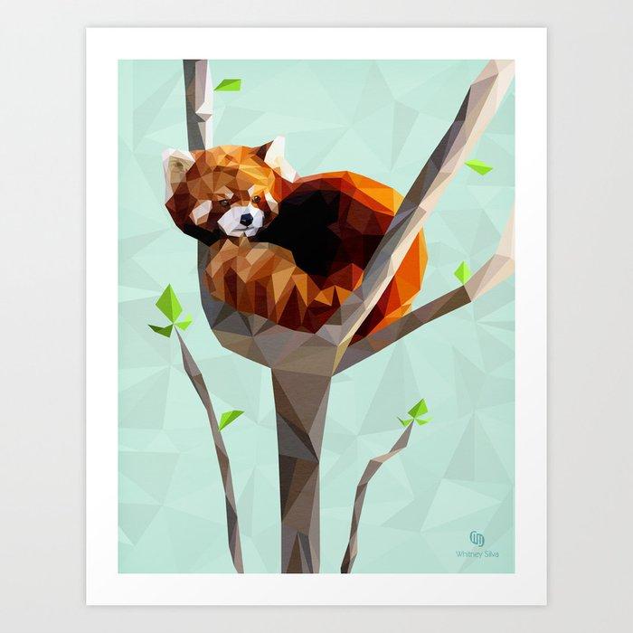 Red Panda Art Print