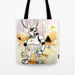 Bunnytrooper Tote Bag