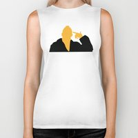 taxi driver Biker Tanks featuring Taxi Driver by FilmsQuiz