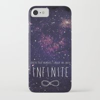 infinite iPhone & iPod Cases featuring Infinite by Enyalie