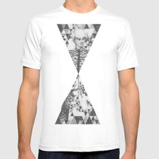 The Smallest Colour White MEDIUM Mens Fitted Tee