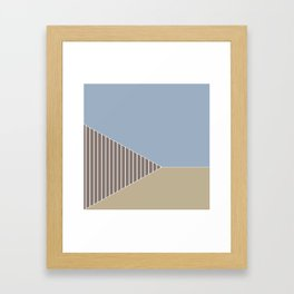 Tri 4 Framed Art Print