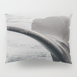 Humpback Whale Tail Pillow Sham