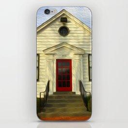 Red Door iPhone Skin