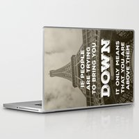 eiffel tower Laptop & iPad Skins featuring Eiffel tower by Solar Designs