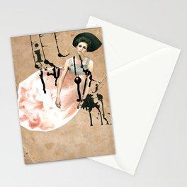 My broken heart Stationery Cards