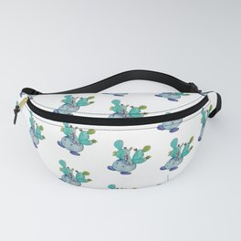 Prickly Pear Cactus Boi Fanny Pack