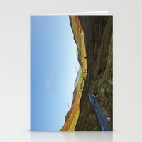 cassia beck Stationery Cards featuring Views from Keskadale and Keskdale Beck back down the Pass. Lake District, UK. by liamgrantfoto