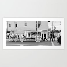 New Orleans Second Line Jazz Funeral Art Print